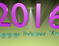 """Check out new work on my @Behance portfolio: """"New Year 2016 Image via Blender"""" http://be.net/gallery/32362455/New-Year-2016-Image-via-Blender"""