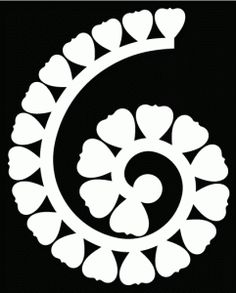 rolled flower 3