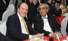 """Sudhir Choudhrie with former Liberal Democrat deputy leader Simon Hughes in 2014. Richard Whittam, a QC for the Serious Fraud Office, detailed the findings of what he said was the """"largest individual investigation conducted by the SFO to date""""."""