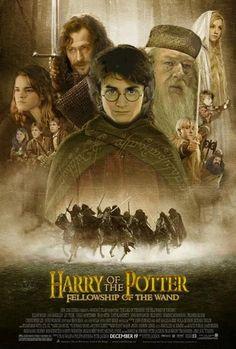 Harry Potter LOTR<<<no, no don't do this!