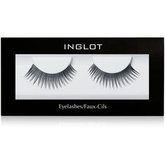 Inglot Eyelashes (€10) ❤ liked on Polyvore featuring beauty products, makeup, eye makeup, false eyelashes, beauty, fillers, fillers - black, n and inglot