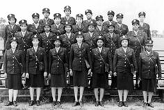 These women are twenty-four of first contingents of black nurses assigned to the European Theater of Operations as they landed in England, August 21, 1944. Second row, first on the left, is Arlayne Hall of Los Angeles. Black nurses were not allowed to treat white soldiers and white nurses were not allowed to treat black soldiers. Black nurses had to fight for the right to participate in World War II.