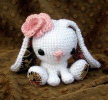 Crochet stuffed bunny by ~Hazy999 on deviantART
