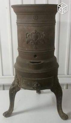 poele a bois ancien emaille vintage heaters pinterest antique stove vintage enamelware. Black Bedroom Furniture Sets. Home Design Ideas