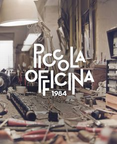 Piccola Officina by dework , via Behance