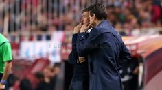 """Talking about the game, Luis Enrique explained that """"in the first half we played very good football and created problems for Sevilla."""" He lamented, however, that Sevilla were given breathing room during a short time in the first half that allowed them to get back in the game. """"We had a great first half except for five minutes when we fell apart."""" """"The second half was more balanced, no team was superior and we made one mistake."""" """"We had the feeling that we could get the third goal but also…"""