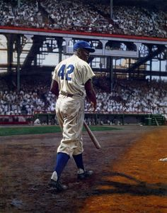 Jackie Robinson - first African American to play in the Major Leagues. Arguably the greatest baseball player of all time, but no question he was the most inspirational. He played 5 varsity sports in col