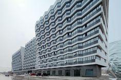 Dongrun Apartment Building / Praxis d'Architecture