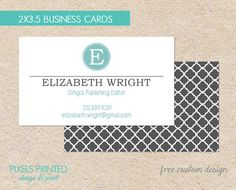 The 21 best business cards images on pinterest card patterns business cards thick glossy or matte color both sides free ups ground reheart Images