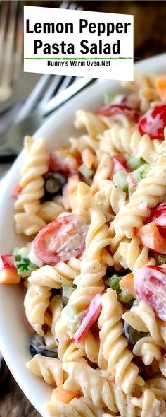 Whole Food Recipes, Dinner Recipes, Cooking Recipes, Healthy Recipes, Cooking Tips, Healthy Food, Best Pasta Salad, Pasta Salad Recipes, Veggie Dishes