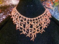Collana perline di vetro di GariaBijouxHandMade su Etsy, €18.00