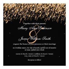 Starry Night Wedding Invitations, 226 Starry Night Wedding Announcements & Invites