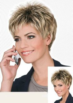 International Wigs®: Express by Trend EuropeanSynthetic short wig by Trend European. Sexy boy cut, in a pixie style. Color Shown: White Blond and 27 We are pleased to present the new Trend European line. Unique and exquisiInternational Wigs: - February 2 Haircut For Older Women, Short Hair Cuts For Women, Short Hairstyles For Women, Easy Hairstyles, Hairstyle Names, Asymmetrical Hairstyles, Black Hairstyles, Natural Hair Styles, Short Hair Styles
