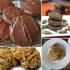 Healthy Cookie Recipes- I love sweets I'll have to try some of these!