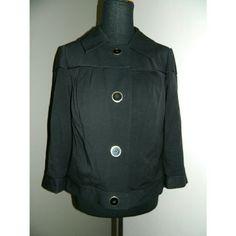Atelier black blazer sz 8 Casual 3/4 sleeve blazer jacket. Button down sz 8. EUC Atelier Jackets & Coats Blazers