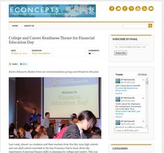 "Econcepts is a blog maintained by the Economic Education Group at the Federal Reserve Bank of San Francisco (""SF Fed Econ Ed""). Their mission is to provide meaningful learning experiences about the Federal Reserve, economics, and the economy."