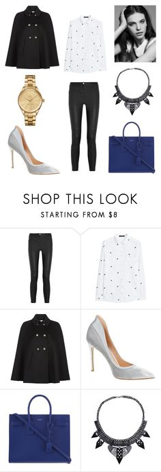 """""""JE VOLE"""" by laura-melissa-cortes on Polyvore featuring moda, Givenchy, MANGO, Monsoon, Gianvito Rossi, Yves Saint Laurent y Lacoste"""
