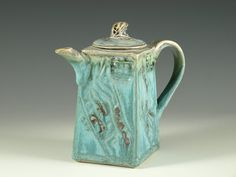 Small teapot 42 - One-of-a-kind small teapot collection - 7oz. $65.00, via Etsy.