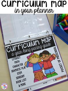 Curriculum Map (Preschool, Pre-K, and Kindergarten) for the whole year! Year plan, month plans, and
