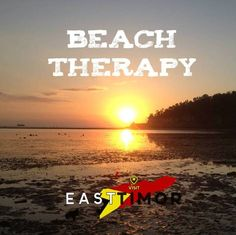 It's time for some beach therapy...Discover #TimorLeste