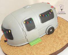 3D airstream cake