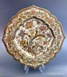 Antik Zsolnay tányér Decorative Plates