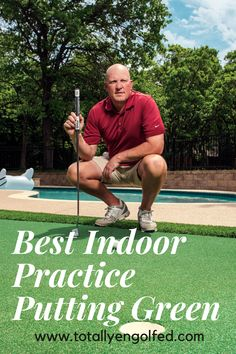 All the best way to practice putting at home. Check out our review here. From Big Moss Commander Patio Series V2 to Putt-A-Bout Grassroots Par Three, everything you need to know. Practice Putting Green, Indoor Putting Green, Golf Simulators, Putt Putt, Need To Know, Helpful Hints, Patio, Baseball Cards, Big