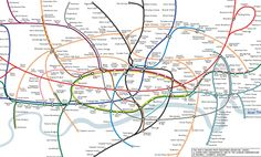 Curvy Tube Map Re-visited by Maxwell Roberts  Feb 2008