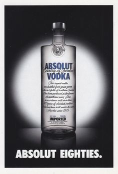 Absolut Eighties - # 303 - Promocard - Italy - # 5.483