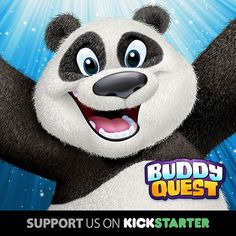 Boomer from Pandamania VBS is coming to Buddy Quest -- along with over 100 other Buddies! http://www.buddyquest.com