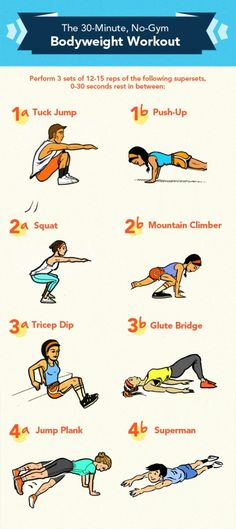 The 30-Minute, No-Gym Bodyweight Workout