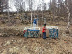 Hage og hus bloggen: Via, bjørk og osp'e hekk