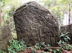 """Kawtchhuah Ropui"" or The Great Gateway at Vangchhia village, Mizoram. To see the menhirs."