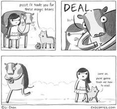 magic beans : webcomics