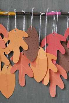 free printable leaves from classic play