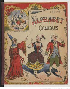 Alphabet comique | Gallica