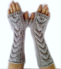 long owl gloves I wish I could make these