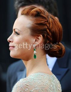 Berenice Bejo - hate the dress, love the hair