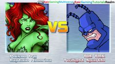 Twilight Sparkle And The Tick VS Poison Ivy And Captain America In A MUGEN Match / Battle / Fight This video showcases Gameplay of Twilight Sparkle From The My Little Pony Friendship Is Magic Series And The Tick VS Poison Ivy The Supervillainess And Captain America The Superhero In A MUGEN Match / Battle / Fight