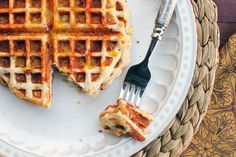 FlapJacked Bacon, Egg & Cheese Stuffed Waffles Recipe