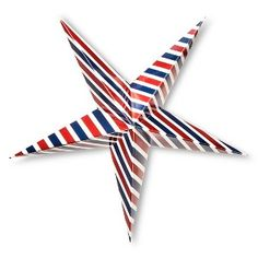 4th of July Hanging Stars - 2 ct