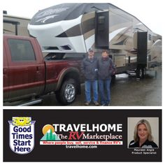 Congratulations to Simon & Ilean on the purchase of their Cougar 333MKS #fifthwheel from Maureen! #cougarrv #Travel #Travelhome #camping #vacation #RVing