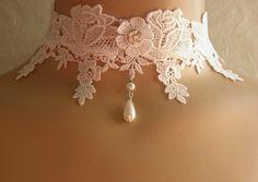 Victorian Lace Choker<3
