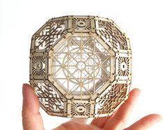 Bausatz für Sterne Orb-Dodekaeder Heilige von ThomasHouhaDesigns