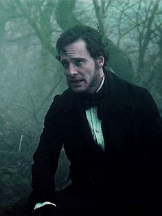 Michael Fassbender as Edward Rochester in Jane Eyre...perfect