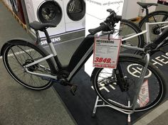 Instagram picutre by @berlinnoise: #ebike #bosch #City #mediamarkt #exspensive - Shop E-Bikes at ElectricBikeCity.com (Use coupon PINTEREST for 10% off!)