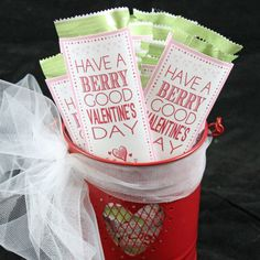 Berry Good Valentine Printable | Free Valentine Printable | Designer Blogs