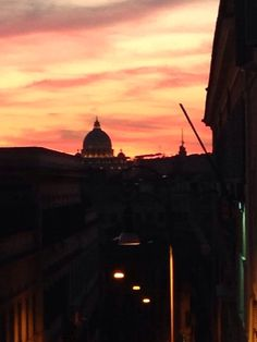Rome St Paul's Basilica sunset  #myshot