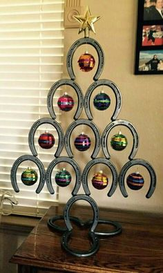 horseshoe christmas tree ideas christmas decoration ideas creative ...