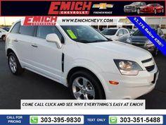 2015 Chevrolet Chevy Captiva Sport Fleet LT 25k miles $16,999 25575 miles 303-395-9830  #Chevrolet #Captiva Sport Fleet #used #cars #EmichChevrolet #Denver #CO #tapcars